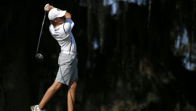 Chiles junior Connor Futrell won the SJGT's Seminole Junior Classic at Seminole GC this past weekend with two 1-under par round of 72, good for a one-stroke victory. Here, he plays Capital City Country Club during the District 1-3A tournament.