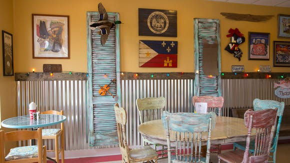 The interior of Zydeco Po Boy and Daiquiri Company in River Ranch May 3, 2016.