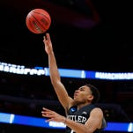 Butler freshman Aaron Thompson poised, productive in NCAA debut