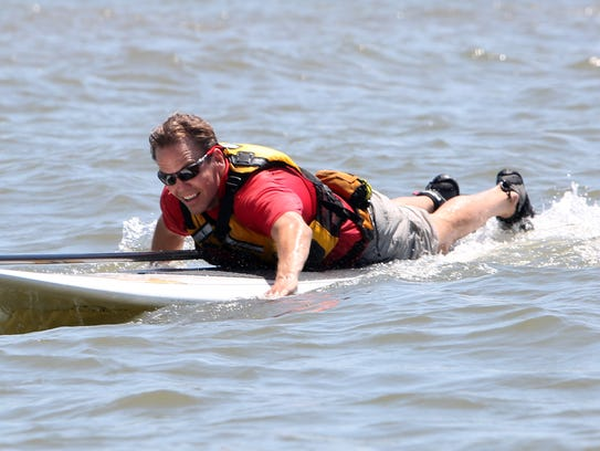 Hudson River Expeditions instructor Edmund Fitzgerald