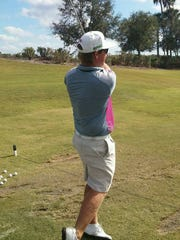 Connor Arendell uses the Verandah Golf Club in ease Lee County as his home course and practice facility.