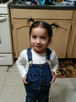 Victoria Rodriguez, age 3, was allegedly kidnapped by her aunt in Sunland Park, N.M.