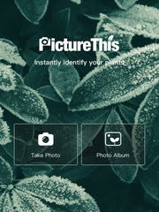 Users can upload photos of plants and get help identifying them through the PictureThis app.