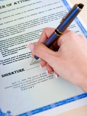 Signing a power of attorney is a voluntary act by an individual with capacity who understands the purpose and effect of the signature.