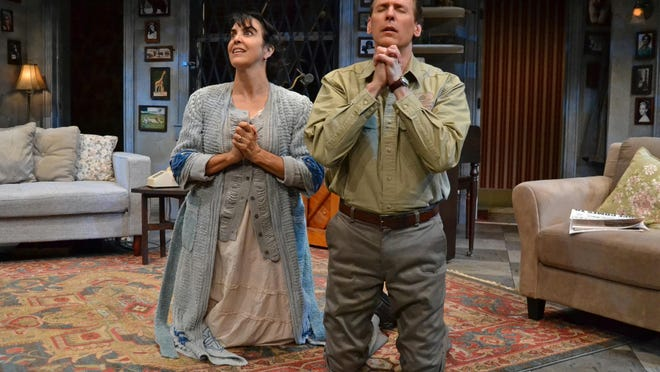 """The House of Blue Leaves,"" a play produced by Palm Beach Dramaworks, received seven nominations in the 44th anual Carbonell Awards.   [Picture provided by Samantha Mighdoll]."
