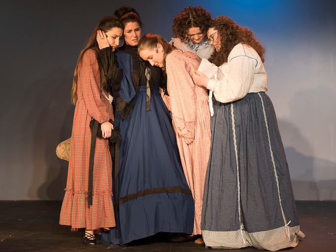 "Consisting of two casts, ""Little Women"" will be presented"