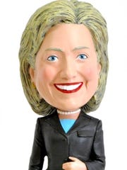 This Hillary Clinton bobblehead doll is for sale at the White House Gift Shop for $28.