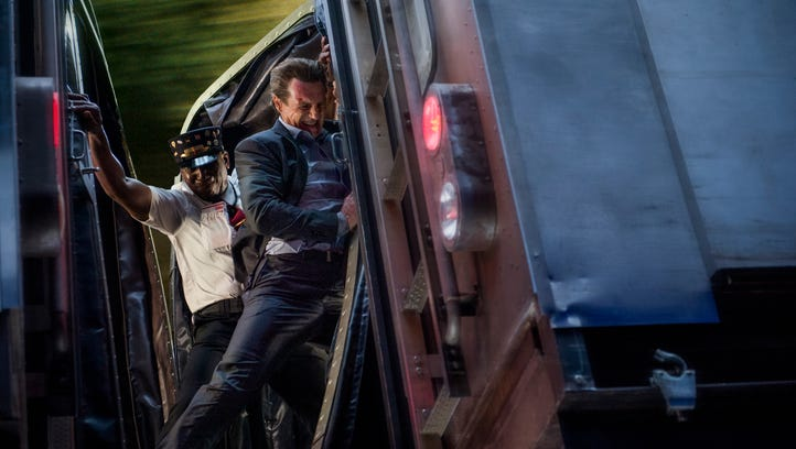 """Michael (Liam Neeson) shows off his skills in """"The"""