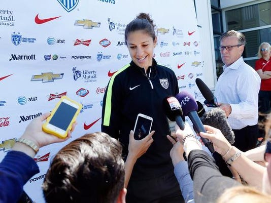 Soccer: Women's World Cup-United States press conference