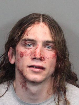 Jacob Robert Finn, 22, was jailed Thursday, May 5, 2016 after a battery incident in Reno.