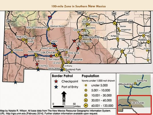 Living in New Mexico's 100-Mile Zone