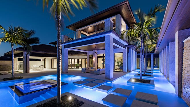 A lakeside estate in the Estuary at Grey Oaks in North Naples  is a finalistin the 2017 HGTV Ultimate House Hunt contest.