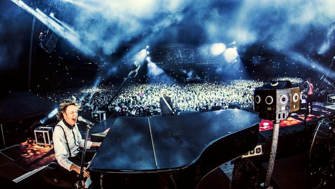 Paul McCartney was captured live by Jaunt VR's virtual reality cameras, showing the possibilities of bringing consumers to events from the comfort of their living rooms.