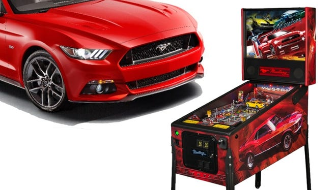 The new Mustang is being incorporated into a video game