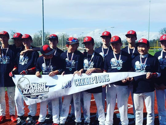 The Redding Vipers are a 13I travel baseball team and