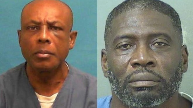 Ontra Jones, left, and Kevin Nelms, right