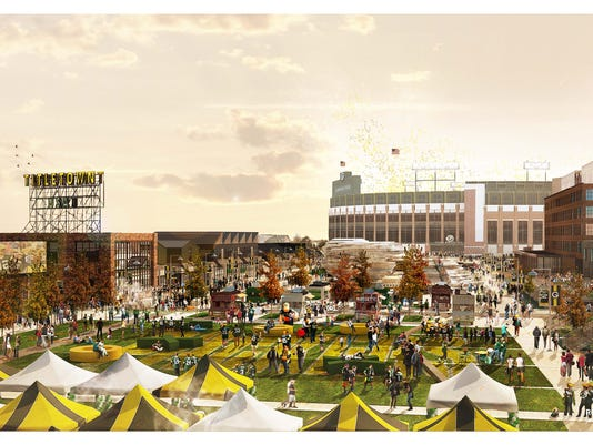 Titletown District rendering (early)