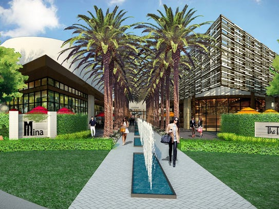 A conceptual rendering shows the proposed design of