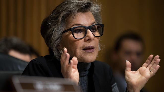 Committee ranking member Sen. Barbara Boxer, D-Calif., questions witnesses during a Senate Foreign Relations Committee hearing concerning cartels and the U.S. heroin epidemic, on Capitol Hill, May 26, 2016, in Washington, D.C.