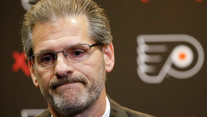 Flyers general manager Ron Hextall has only made three in-season trades since taking over and a fourth doesn't look likely anytime soon.