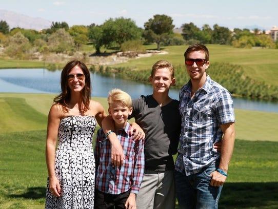 Neysa Tonks, a single mother of three boys, was among