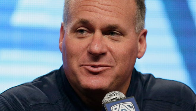 Arizona football coach Rich Rodriguez is expected to have his contract extension approved by the Arizona Board of Regents on Friday, June 6, 2014.