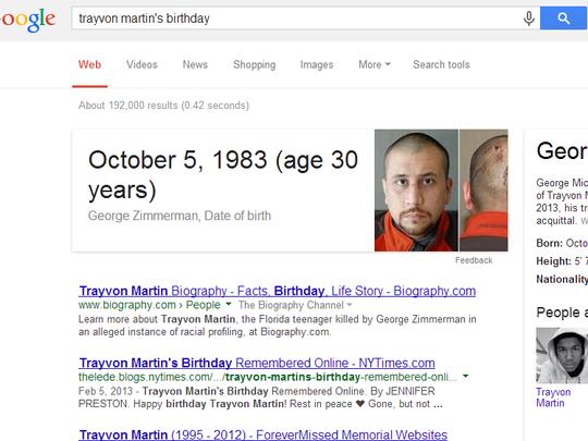 Trayvon Martin's birthday