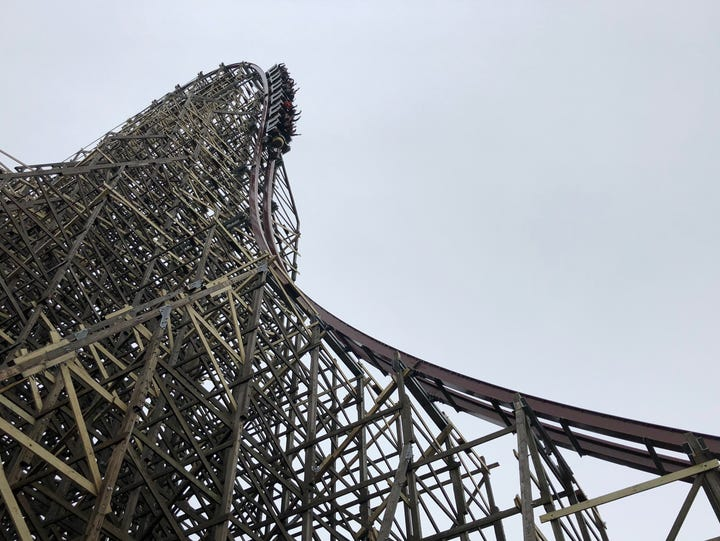Steel Vengeance at Cedar Point in Sandusky, Ohio isn't