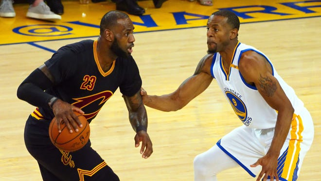 Andre Iguodala is as close as it comes to a LeBron James stopper in the NBA.
