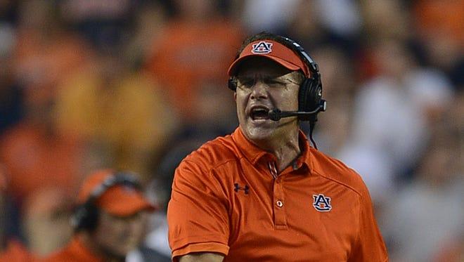 Auburn head coach Gus Malzahn, an assistant at