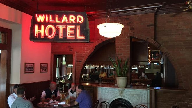 This original neon sign is a reminder of The Willard's cool history.