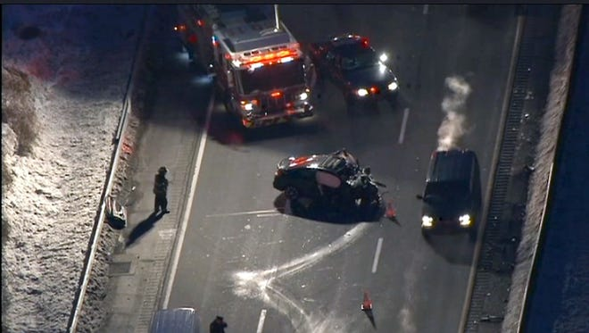 A fatal crash closed the southbound Sprain Brook Parkway south of Route 100B in Greenburgh In February.