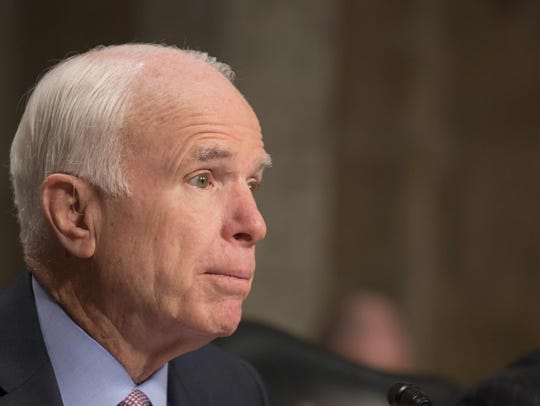 Sen. John McCain, chairman of the Senate Armed Services