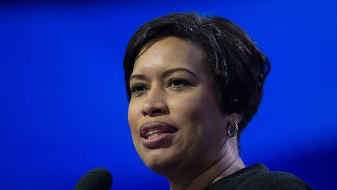 Washington mayor Muriel Bowser