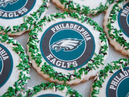 Eagles baked goods