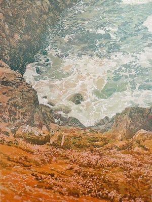 "Robin Gibson's print ""Acadia."""