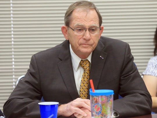 State District Judge Guy Williams attends a Council
