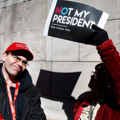 Lack of self-respect on display at protest rally