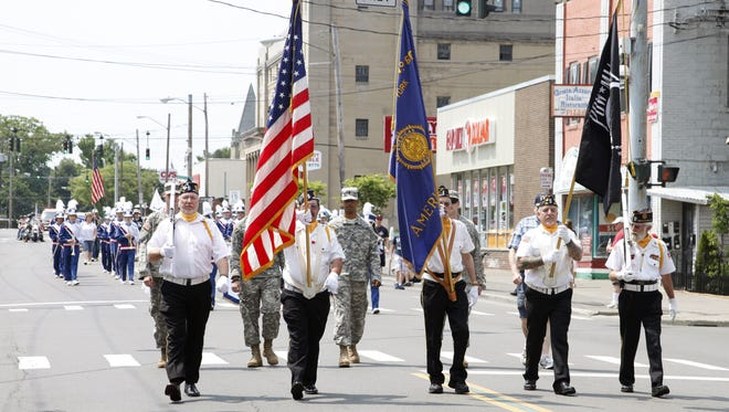 The City of Binghamton's Memorial Day parade.