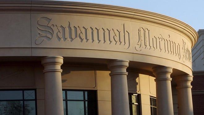 The Savannah Morning News building located at 1375 Chatham Parkway.