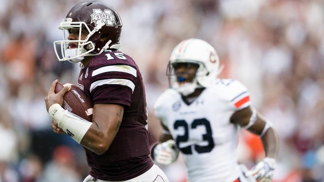 Mississippi State returning quarterback Dak Prescott gives the Bulldogs hope that they will remain a legitimate contender in the SEC West.