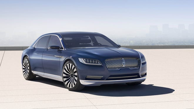 The new model is to rekindle the brand's timeless elegance with a new Lincoln-logo mesh grille, chromed headlights, disguised door handles and an exceptionally luxurious interior.