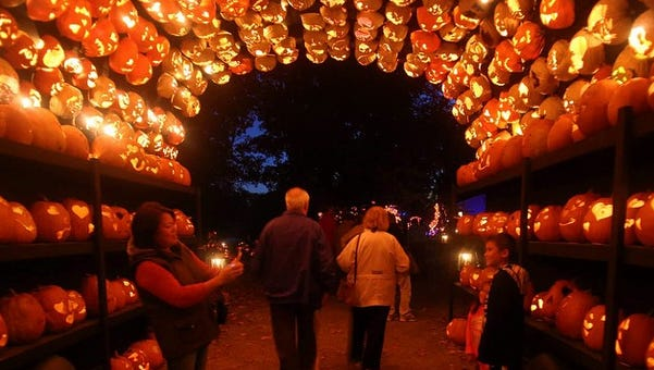 Great Jack O'Lantern Blaze at Van Cortlandt Manor in Croton-on-Hudson