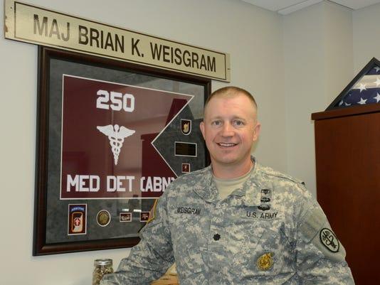 Lt. Col. Brian K. Weisgram