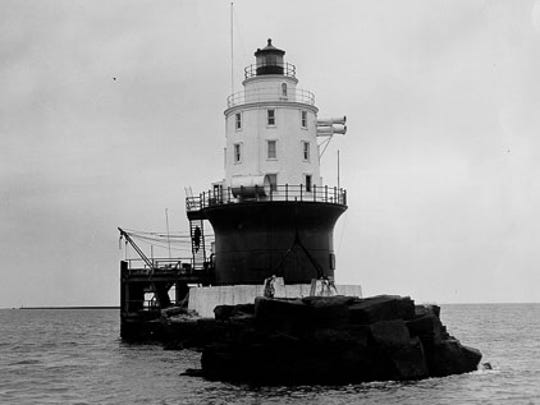 The Harbor of Refuge Light in 1926.