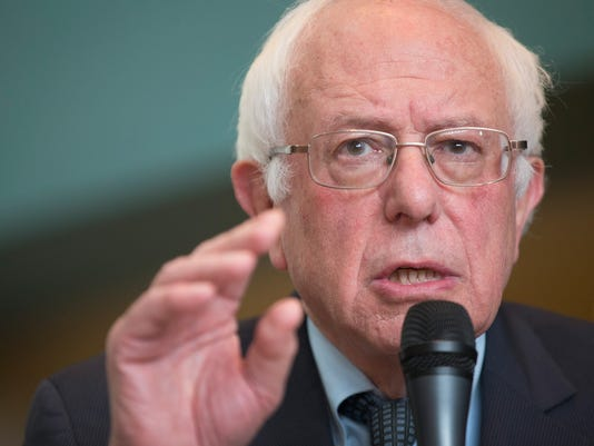 Bernie Sanders Holds Town Hall Meeting In Wausau, Wisconsin