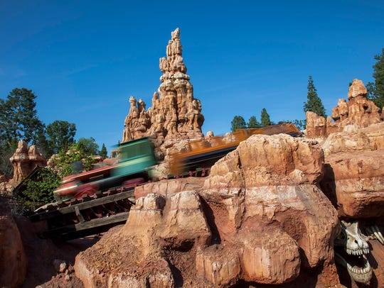 Big Thunder Mountain Railroad is one of the many attractions