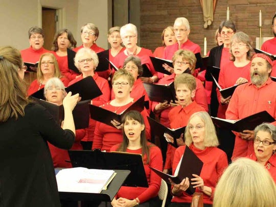 "Salem Community Chorus will perform its spring concert, ""On Broadway,"" June 10 at the Salem Public Library."