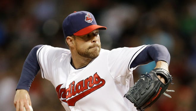 Corey Kluber ends the month with a 4-0 record and a 2.09 ERA in six starts.
