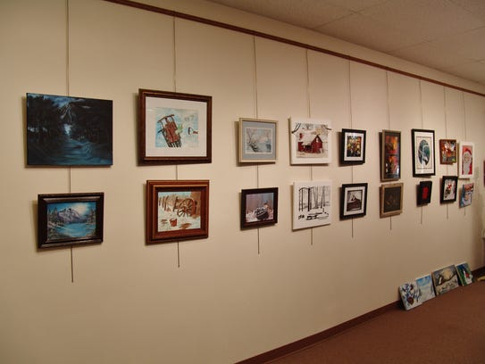The Coshocton County Artists' Winter Wonderland Art